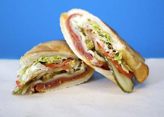 The Italian sandwich at Snarf's, which recently opened near SLU. | Jennifer Silverberg
