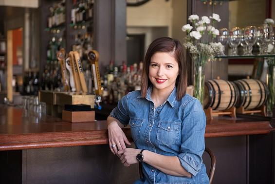 Layla Linehan, bar manager at Brasserie.   Corey Woodruff