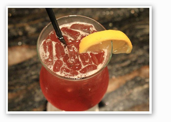 "One classy drink: the ""Southern Belle"" at Kelly English Steakhouse. 
