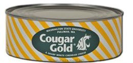 Cougar Gold cheese cans are being recycled into cheesy music. - WASHINGTON STATE UNIVERSITY