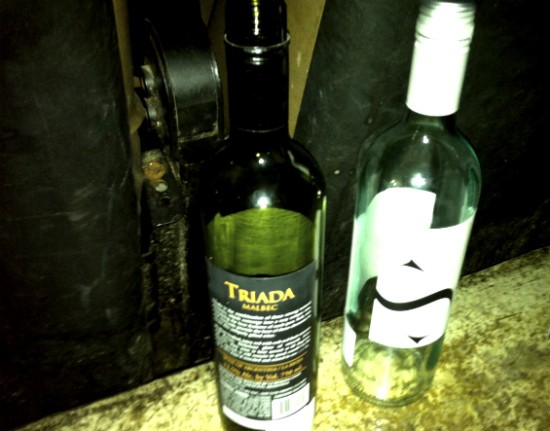 Naturally, both bottles of contraband pinot grigio were empty by movie's end. - LIZ MILLER