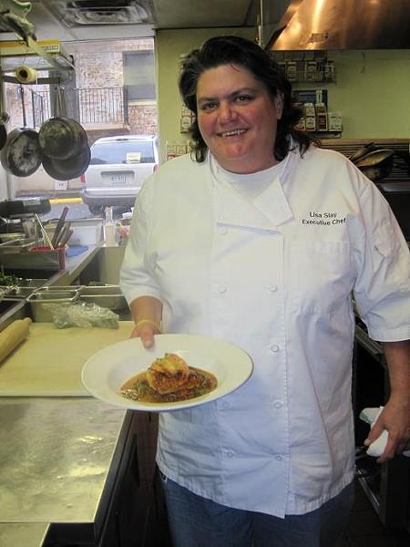 Lisa Slay, Executive Chef of Remy's Kitchen & Wine Bar - ROBIN WHEELER