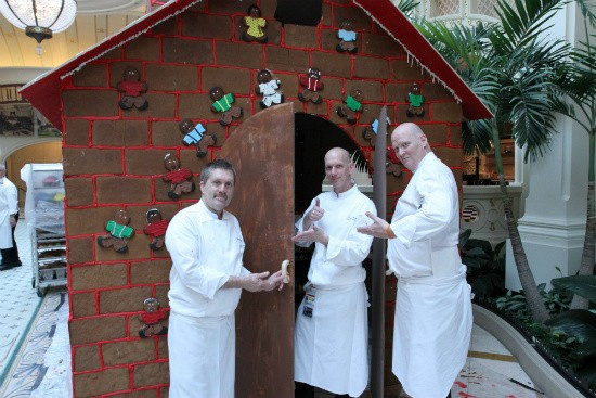 Chefs at River City Casino approve this life-sized gingerbread house. - IMAGE VIA