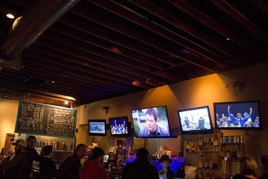 The bar at Felix's.