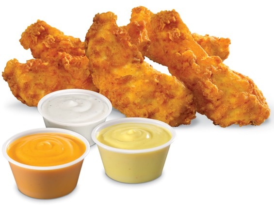 Look at those sauces.