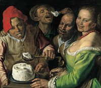 """""""The Ricotta Eaters"""" - Vincenzo Campi - WIKIMEDIA COMMONS"""