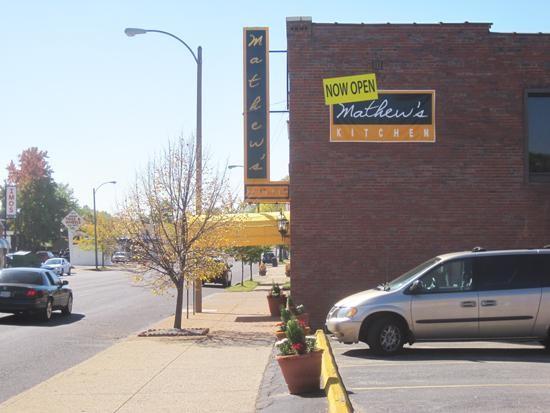New sign, new restaurant: Mathew's Kitchen - IAN FROEB