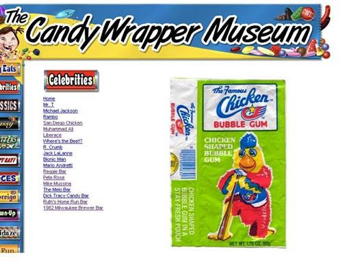 WWW.CANDYWRAPPERMUSEUM.COM