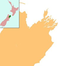 The Marlborough region is highlighted green (inset).