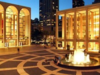 Lincoln Center, home of the Met - NILS OLANDER, WIKIMEDIA COMMONS