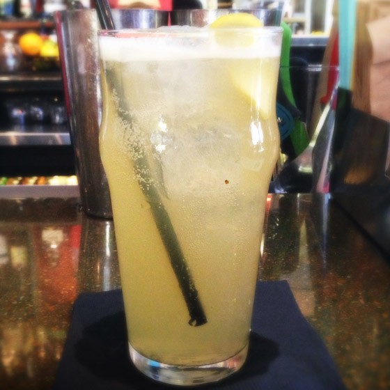 """The """"Mission Paloma"""" at Mission Taco Joint. 