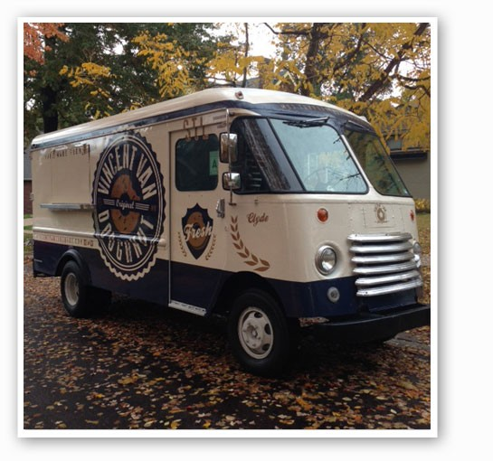 The titular van.   Brian Marsden