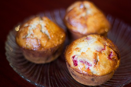 Annie Moons' banana split muffin.   Photos by Mabel Suen