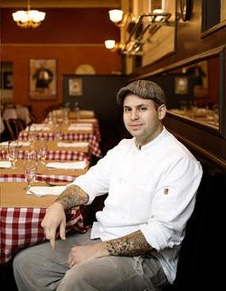 Owner Gerard Craft inside Brasserie by Niche - JENNIFER SILVERBERG