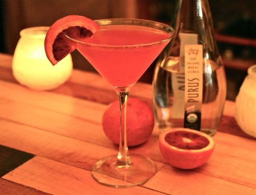 Katie's is squeezin' what's in season for their Holiday Cocktail - HOLLY FANN