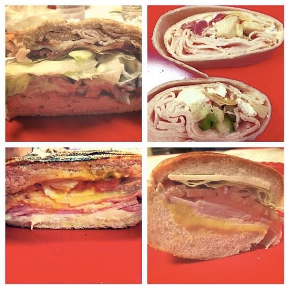 The finalists at Majic Market's sandwich contest last November. | Nancy Stiles