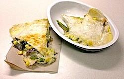 "A ""quesadilla"" off Chipotle's hidden menu. - KAITLIN STEINBERG"