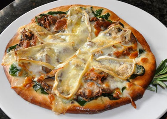 The Wild Thing pizza at Wild Flower. | Tara Mahadevan
