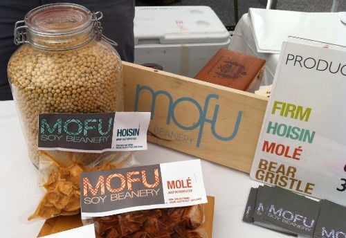 MOFU's line of Tofu products will soon include a medium and silken variety as well - HOLLY FANN