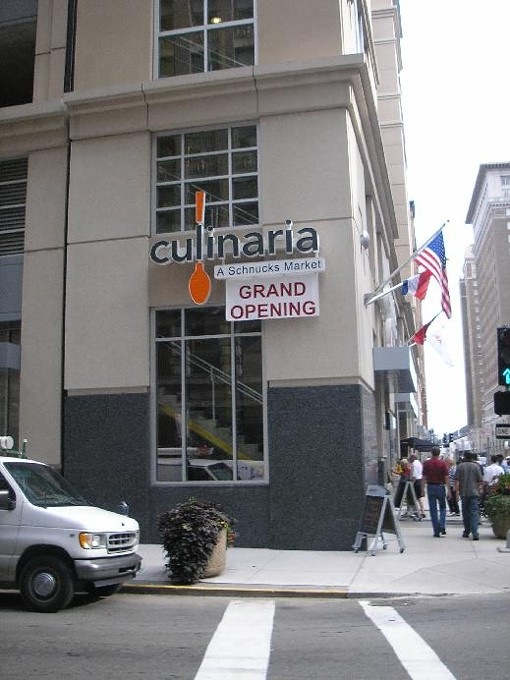 Culinaria - A Schnucks Market at Olive and North 9th Street - IAN FROEB