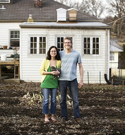 Danielle and Justin Leszcz of YellowTree Farm - JENNIFER SILVERBERG