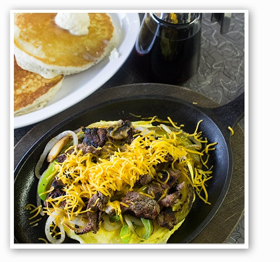 "The ""Gateway Skillet"" at Gateway Grill. 