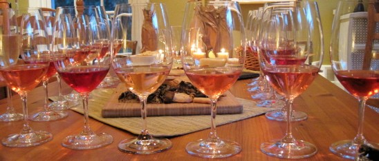 Which wine's which? We didn't know when we tasted 'em. - DAVE NELSON
