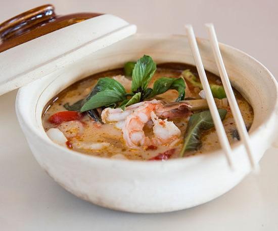 A seafood hot pot at Ocha Thai & Japanese Cuisine - COREY WOODRUFF