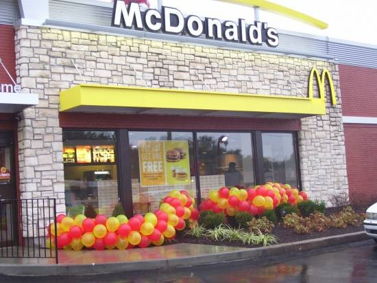 Ferguson McDonald's Reopens! - ASHLEY ATKINS