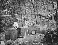 A moonshine distillery in Kentucky. - WIKIMEDIA COMMONS