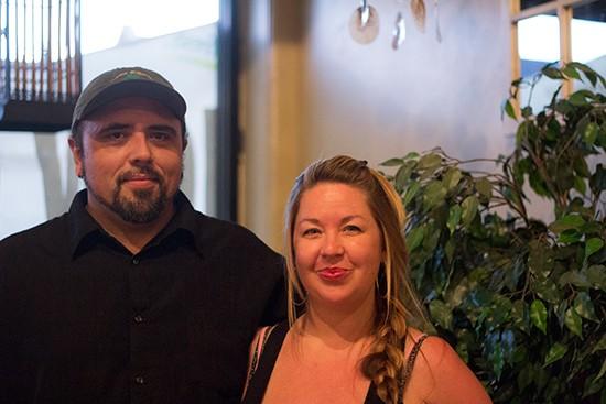 Co-owners Travis Parfait and Pamela Melton.   Mabel Suen