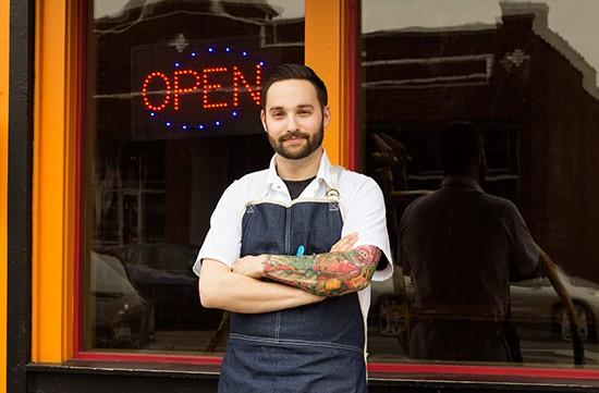 Chef Chris DiMercurio.