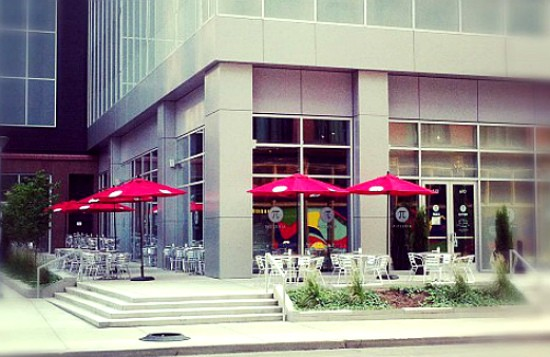 The exterior of Pi's newest location in the Mercantile Exchange in downtown St. Louis. - CHRIS SOMMERS