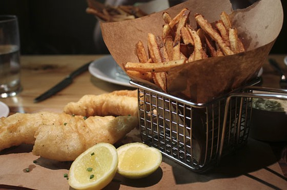 Fish and chips | Nancy Stiles