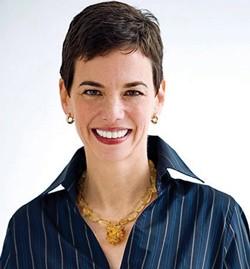"""""""Drive,"""" she said: Food & Wine magazine editor Dana Cowin."""