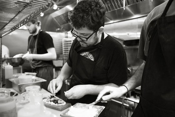 Urban Chestnut's chef Andy Fair. | Jennifer Silverberg