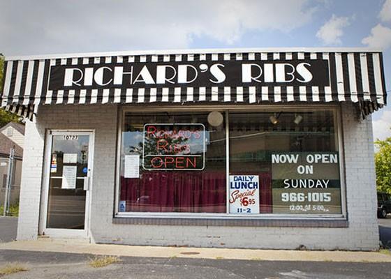 Richard's Ribs in Kirkwood. | Laura Ann Miller