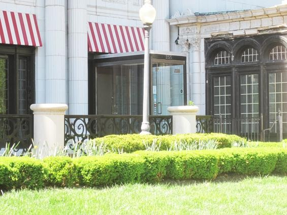 The exterior of the restaurant space in the Westmoreland apartment building - IAN FROEB