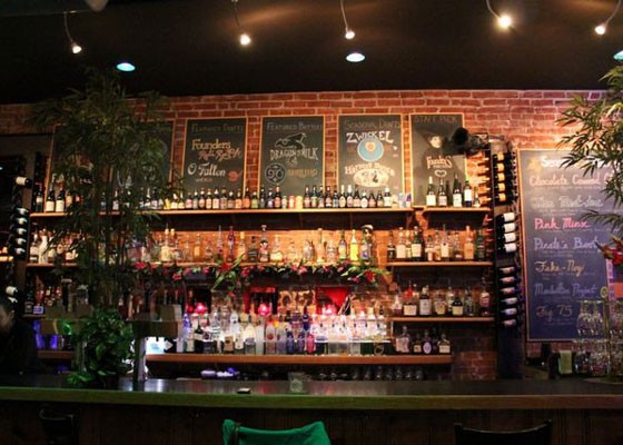 The bar at Atomic Cowboy. | RFT Photo