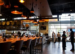 Inside the new Central Table Food Hall in the Central West End - MABEL SUEN