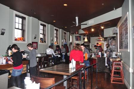 Inside Benton Park Cafe | Tara Mahadevan