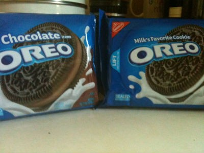 Triple Double your Oreo pleasure. - ROBIN WHEELER