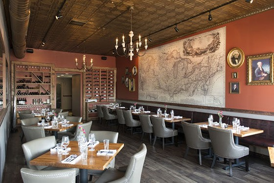 The dining room at Three Flags Tavern. | Corey Woodruff
