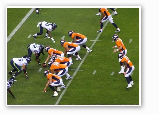 Seahawks vs. Broncos. | Daniel Spiess