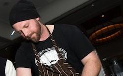 Farmhaus Chef de Cuisine Andrew Jennrich - JON GITCHOFF