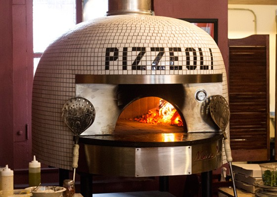 The custom oven.   Mabel Suen