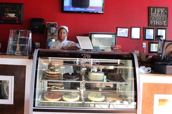 Pastry chef Cinnomin Brothers. - MABEL SUEN