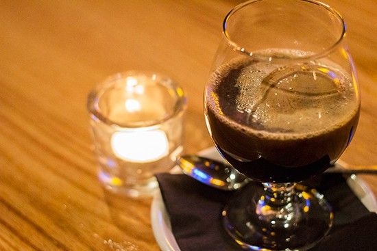 4 Hands Chocolate Stout float with housemade ice cream. - PHOTOS BY MABEL SUEN