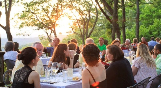 MONTELLE WINERY'S SUNSET DINNER | SLAVA BOWMAN