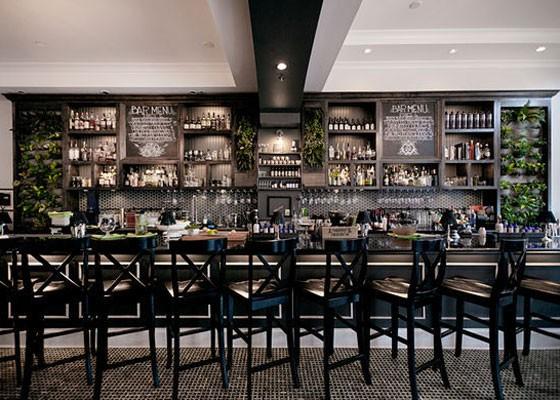The bar at Blood & Sand. | Jennifer Silverberg